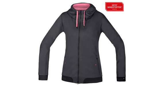GORE BIKE WEAR Power Trail WS SO Hoody Lady raven brown/black
